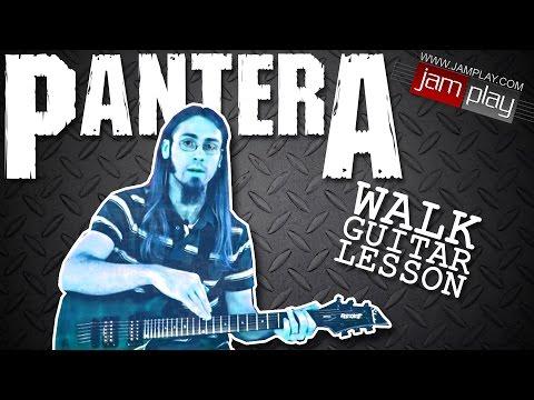 Pantera: Walk - Guitar Lesson