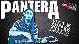 vuclip Pantera: Walk - Guitar Lesson