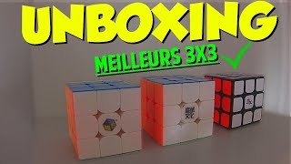 UNBOXING DES TROIS MEILLEURS 3x3 DU MONDE (GTS3M YJ MGC Yuxin Huanglong)