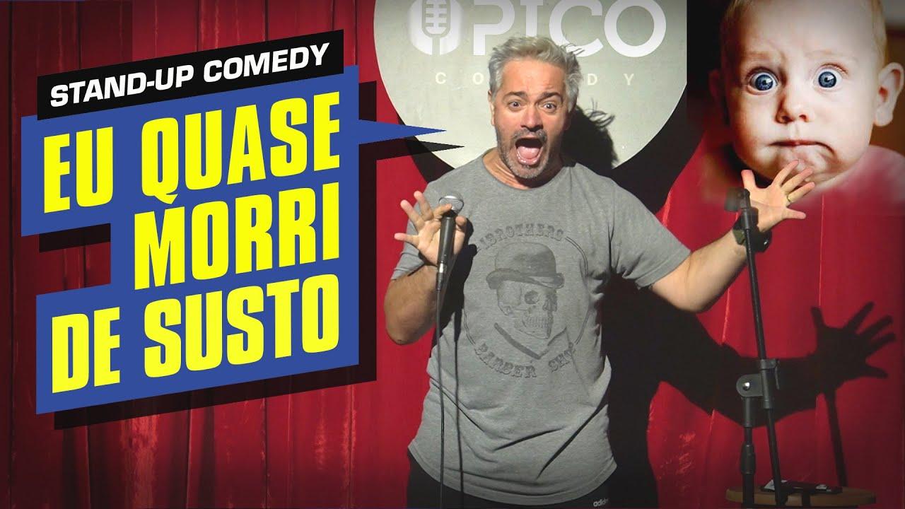 O DIA EM QUE EU DEI UM SUSTO NO MEU FILHO DE 2 ANOS - ROGÉRIO VILELA   Stand up Comedy