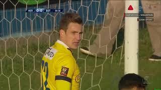 FC Hermannstadt - FC Botosani: interventii extraordinare ale lui Martin Fraisl! - Liga 1 Etapa 15