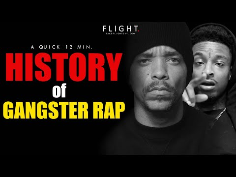 A 12 Min. History of Gangster Rap