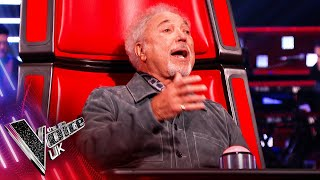 Sir Tom Jones' 'With These Hands' | Blind Auditions | The Voice UK 2021
