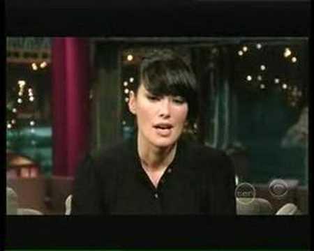 Lena Heady on Letterman