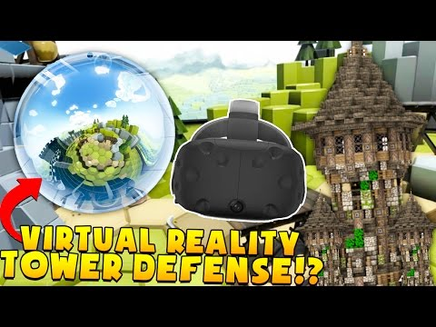 $10,000,000 DAMAGES! VIRTUAL REALITY TOWER DEFENSE - The Lab VR (HTC VIVE)