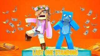 LAST ONE STANDING wins $10,000 Dollars (Custom Map)!! | Minecraft w/ Little Kelly