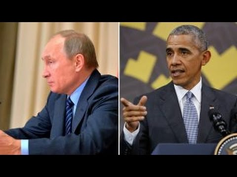 Thorn in his side: Obama meets one final time with Putin