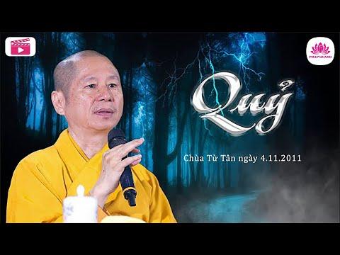 Quỷ - Thượng Tọa Thích Chân Quang