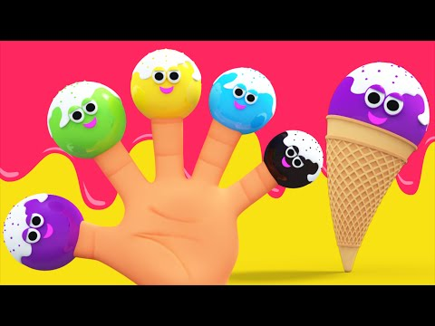 Ice Cream Finger Family Song | Nursery Rhymes And Children's