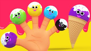 Ice Cream Finger Family Song | Nursery Rhymes And Children
