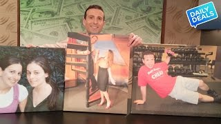 Valentines Day Gift Ideas: $25 Photo Collage Canvas Prints ► The Deal Guy