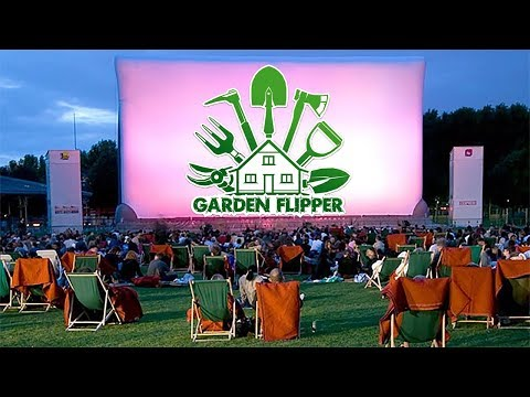 видео: КИНОТЕАТР ВО ДВОРЕ  Garden Flipper #12