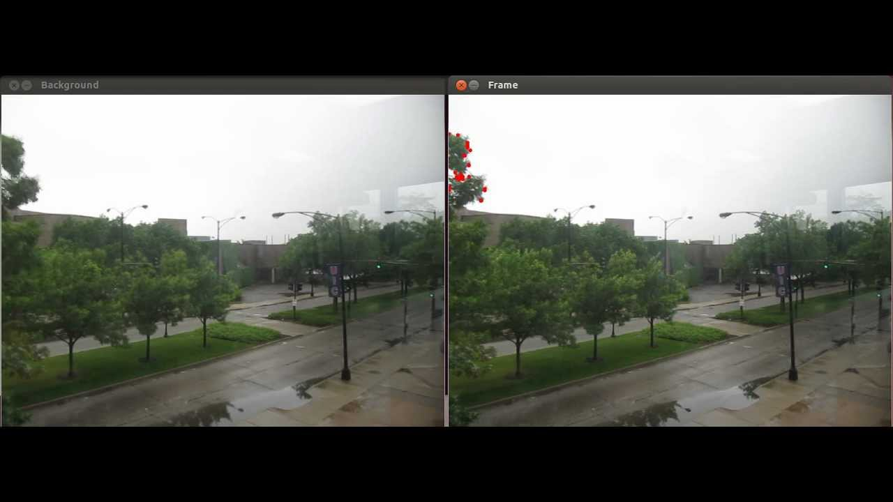 Adventures with openCV - background subtraction by BlindKiris