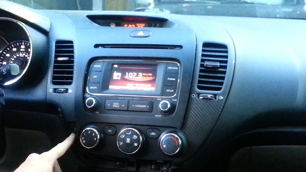 maxresdefault remove factory radio kia forte 2013 2017 youtube  at gsmx.co