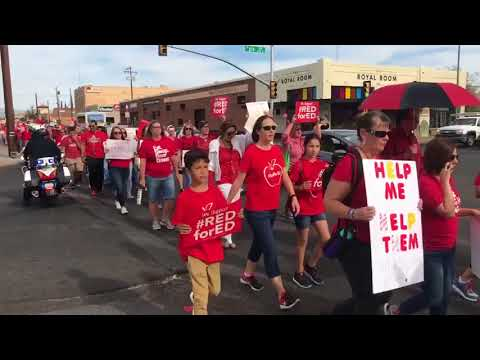 Watch: Tucson teachers rally for funding