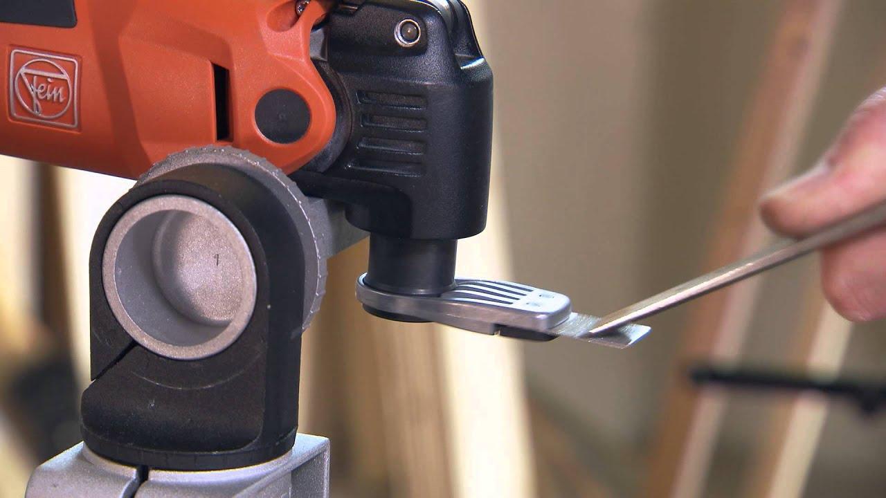 FEIN MultiMaster Oscillating Tool & Tool Sharpening - YouTube