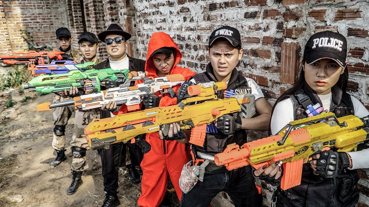 LTT Nerf War : SEAL X Warriors Nerf Guns Fight Dr Ken Crazy Mercenaries Destroy The Enemy Plans