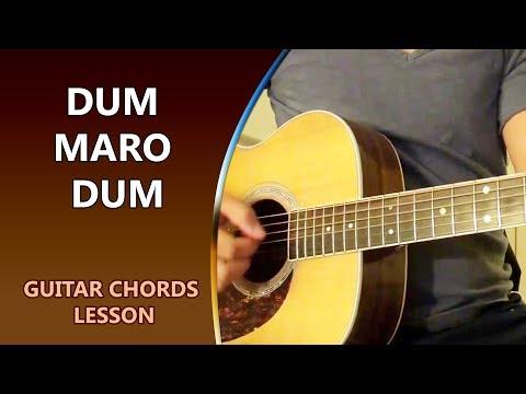 DUM MARO DUM - Guitar Chord Lesson || Musical Guruji
