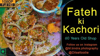 Fateh Ki Kachori - Kulcha Chole Roll And Chole Kachori