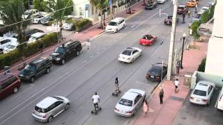 Отдых в Майями (Оушен Драйв)(Filming from sixth floor building,5th avenue South Beach. -~-~~-~~~-~~-~- Please watch:
