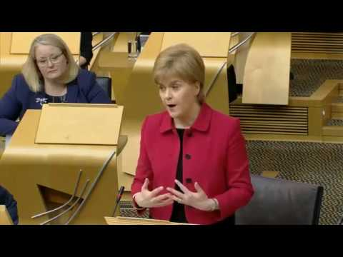 ScotRef: First Minister of Scotland - IndyRef2 Debate 28 Mar 2017