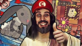 VIDEO GAME JESUS | Return of the DEATH Wave! (Ultimate Chicken Horse)