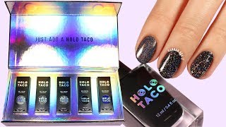 HOLO TACO Review & Live Swatches | SimplyNailogical Polishes