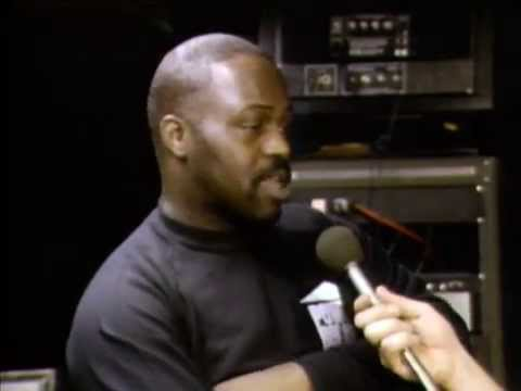 Frankie Knuckles at Power House club, 1986 opening night