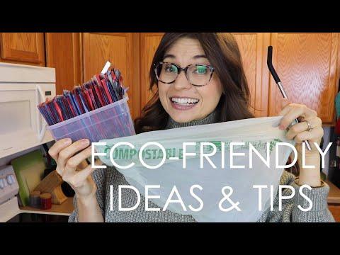 ECO-FRIENDLY TIPS & IDEAS!
