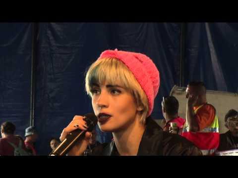 Pussy Riot at Glastonbury 2015