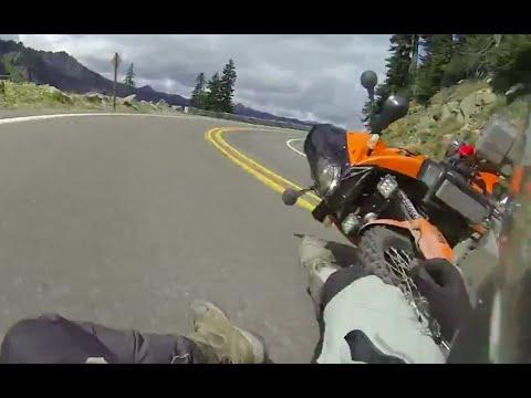 Падения тяжелых ADVENTURE мотоциклов.