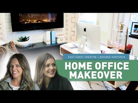 Home Office Makeover | East Coast Creative + Bachelorette Desiree Hartsock