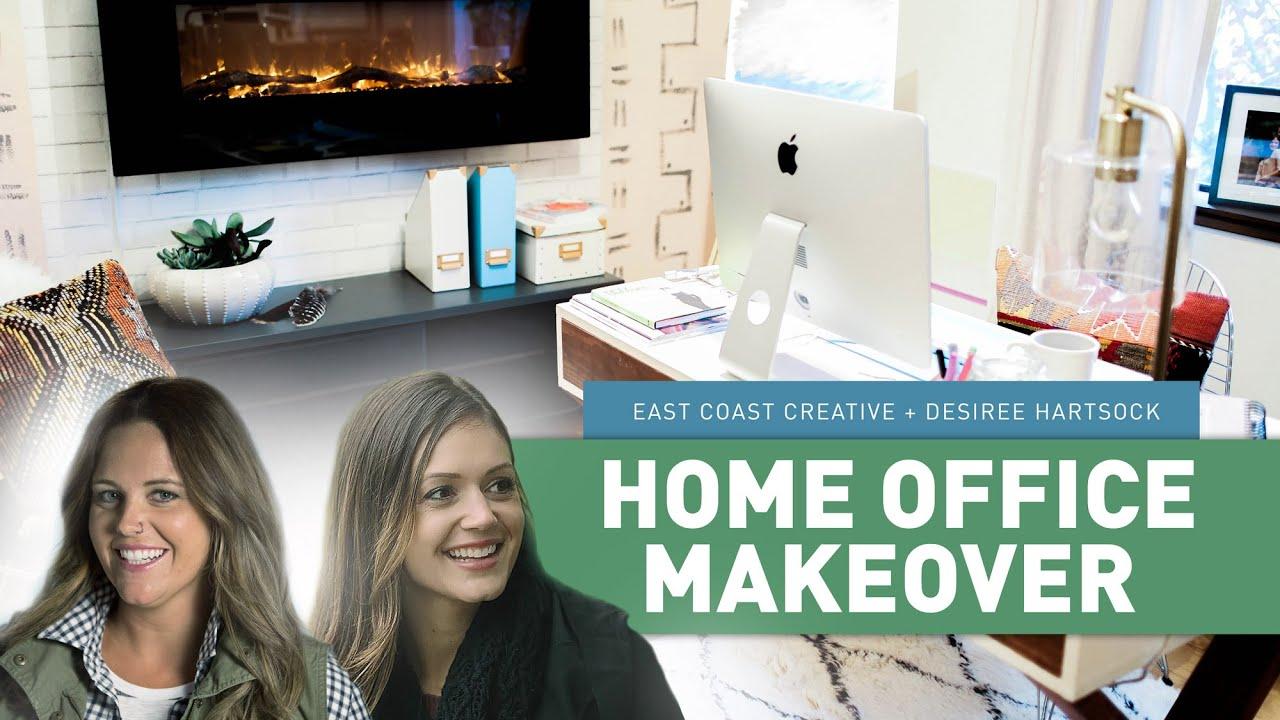 Home Office Makeover | East Coast Creative + Bachelorette ...