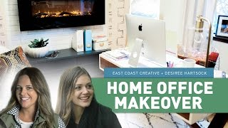 Home Office Makeover | East Coast Creative + Bachelorette Desiree Hartsock