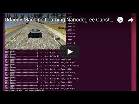 udacity machine learning nanodegree