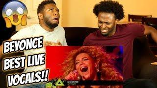 Beyonce's Best Live Vocals ALMOST KILLS US (REACTION)