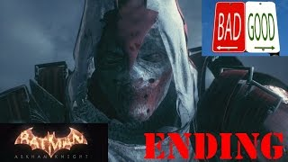 Batman Arkham Knight: Azrael Heir To The Cowl Both Endings