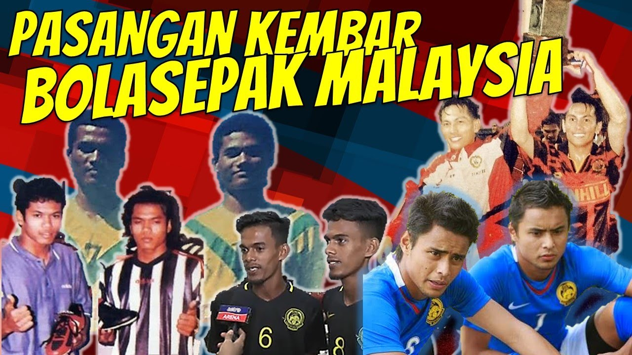Pasangan Kembar Bolasepak Malaysia