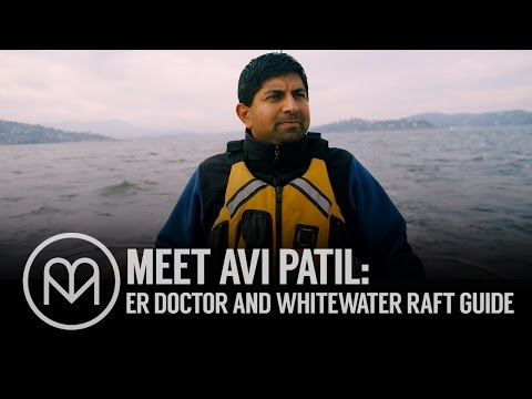Meet Avi Patil: Emergency Medicine Physician and Whitewater Raft Guide