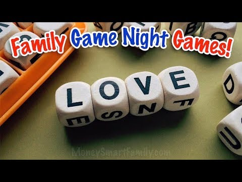 Family Game Night Games/ Games for Groups to Play Inside/ Senior Games