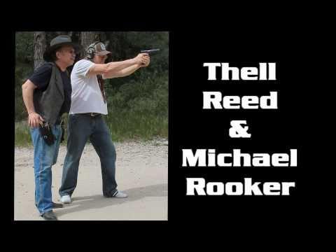 Thell Reed & Michael Rooker Gun Training