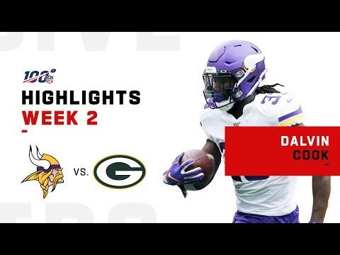 Dalvin Cook's MONSTER Game w/ 154 Yds & 1 TD | NFL 2019 Highlights