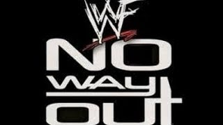 10 YEARS AGO EPISODE 2 - WWF NO WAY OUT 2000 PART 1