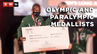 Car manufacturer Toyota has rewarded South Africa's Olympic and Paralympic medallists after the Tokyo Games 2020.  #Tokyo2020