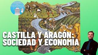 CASTILLA Y ARAGÓN | Sociedad, economía y crisis del siglo XIV