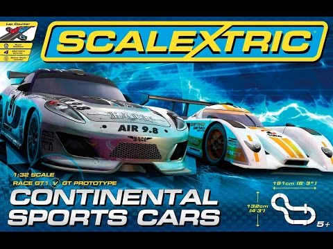 Scalextric Set Review: Continental Sports Cars