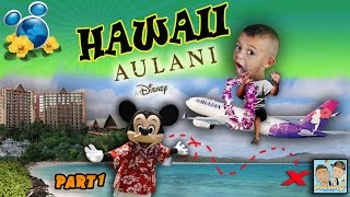 dingle hopperz almost miss the plane to hawaii disney aulani resort vacation trip part 1  vlog
