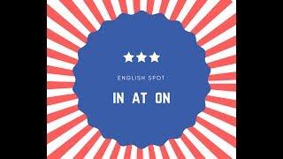Základní předložky v angličtině - English Spot