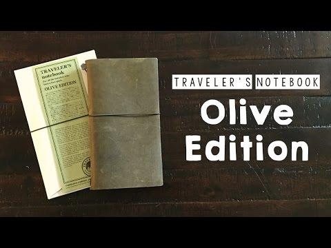 Traveler's Notebook Olive Edition