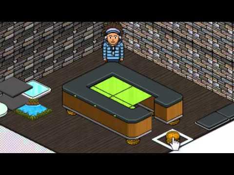 habbo tutorial pool table youtube